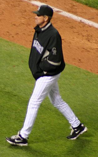 Jim Tracy - Jim Tracy is the manager for the Colorado Rockies.