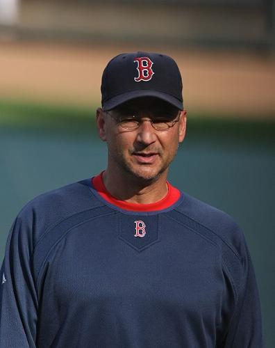 Terry Fancona - The Boston Red Sox manager.