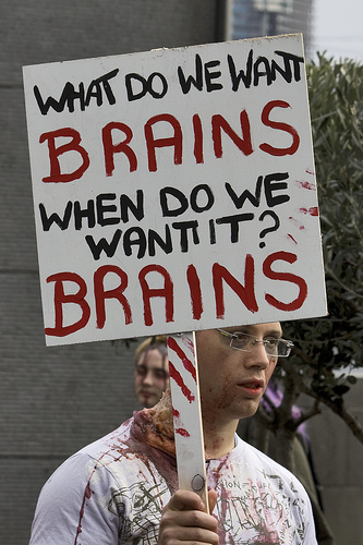 Brains! - Mental health is a very serious subject, but sometimes humor can make to difficult times easier to deal with.