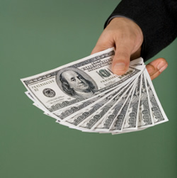 affiliate marketing cash - an image of cash for this category