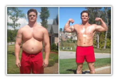 guy loses 25 lbs - image of a guy who lost 25 lbs in a month for this category