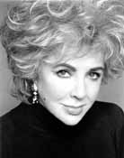 Liz Taylor - Eliabeth Taylor did let her go grey for awhile. She looked better when she dyed her hair!