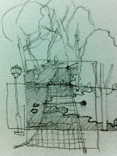 landscape sketch - a landscape sketch