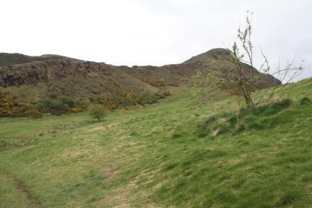 Arthurs seat - Landmark in Edinburgh