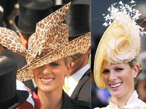 Zara Phillips - Princess Anne's Daughter Zara has some unique styles of hats!