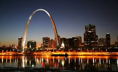 The Arch - The Arch to the West. It is in St. Louis.