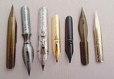 Dip Pen Nibs - These nibs are used to create Pen & Ink drawings