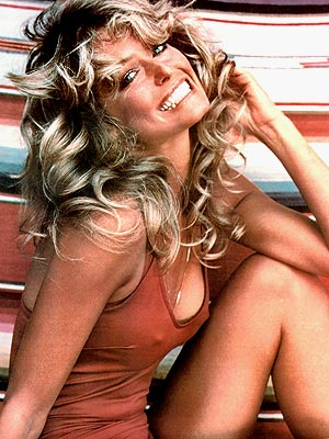 Farrah Fawcett - Farrah Fawcett unforgetable poster! It was the sexiest thing around when it came ou tin the 1970's!