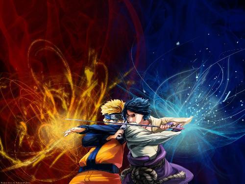 naruto vs sasuke - An explosive action by naruto and sasuke. Who is going to defeat who? Whose power is more superior? Naruto's Risen Shuriken or Sasuke's Chidori?