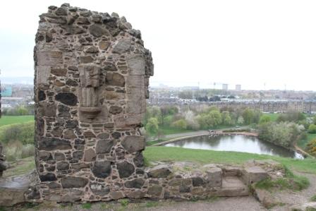Ruined chapel - Ruined chaped in Edinburgh