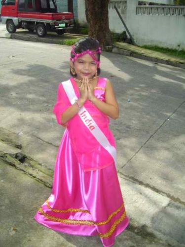 Ms.India - my niece as Ms. India 2010 as they celebrated United Nation Day  I think she is going to replace me soon LOL