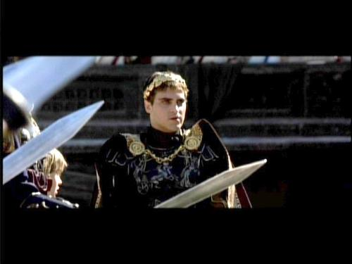 Gladiator - A scene form Gladiator. Joaquin Phoenix was Commodus,the Evil Roman leader.