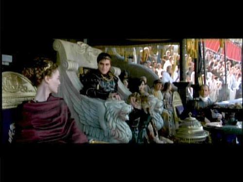 Commodus - Commodus(Joaquin Phoenix) watching the Roman games.