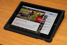 ipad - Another IPAD. This one is with a carrying case.