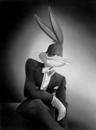 Bugs Bunny - Bugs Bunny dressed like the GodFather