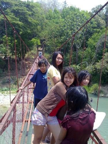 hanging bridge - me and my family