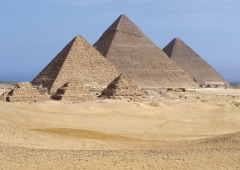 The Pyraminds - The Great Pyraminds of Egypt.