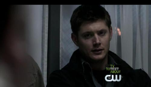 Dean Winchester - Jensen Ackles plays Dean Winchester in Supernatural (screen cap)