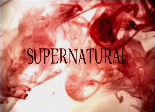 Supernatural Title - Supernatural Title, Season 5 (screen cap)