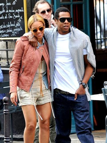 Beyonce and Jay-z - They have been married almost 3 years now!