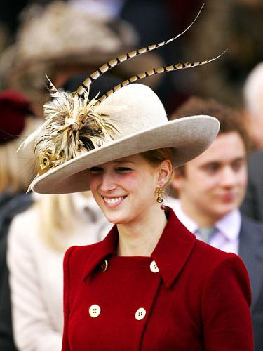 Lady Gabrielle - ONe of the many memebers of the Windsor family. This is what I think of a hat when a Royal wears one!