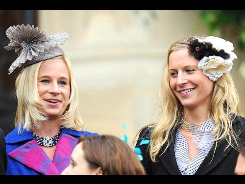 More Windsors - The hat on the left is stupid looking! The hat on the right is not a hat! Not good choices by any means!