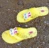yellow flip flops - photo resolution: 100*98