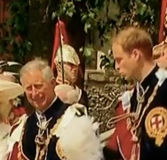 Charles and William - Prince Charles and William together!