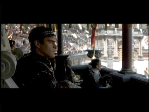 Commodus - Joaquin Phoenix was brilliant playing the crazy Commodus!