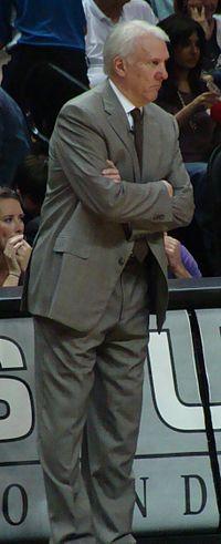 Greg Popovich - Greg Popovich is the head coach of the San Antonio Spurs.
