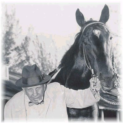 Bold Ruler - The great Bold Ruler and his owner.