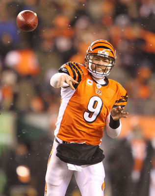 Carson Palmer - He wants out of Cincinnati but I don't think the Bengals are ready to get rid of him!