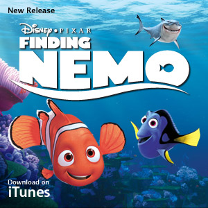finding nemo - this is the cover page of finding nemo.. the best animated movie.. amazing