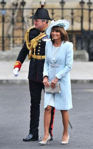 Kate's mom - Kate's mother Carole Middleton.