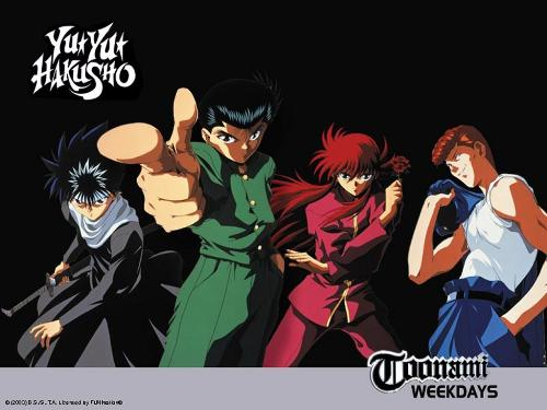 YuYu Hakusho - One of the best animes in town.