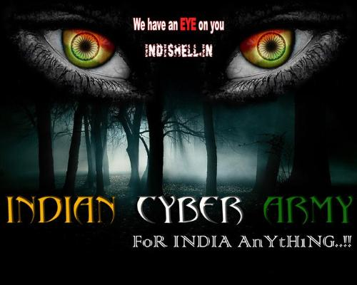 Indian Cyber Army - It's Official Logo of indian cyber army