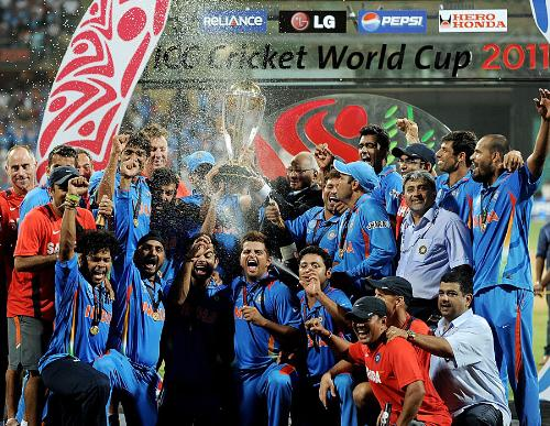 India Winning WC 2011 - indian winning cricket world cup 2011