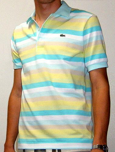 Polo shirt - Polo shirts come in types of colors and stripes.