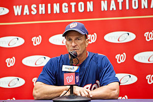 Jim Riggleman - The manager for the Washington Nationals.