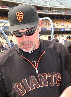 Bruce Brochy - Brochy is the manager for the San Francisco Giants.