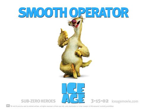 ice age - this is the pic of the first ice age movie...