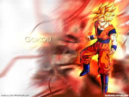 goku - teh best anime for me is dragon ball z