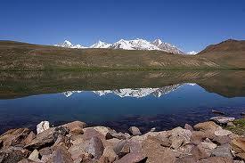 chandratal - lake chandratal in himachal pradesh-india