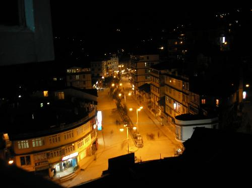 nights at gangtok - beautiful gangtok Mal at night