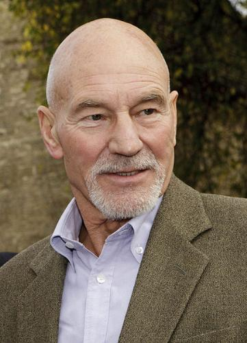 Patrick Stewart - Best know for Star Trek:The next generation. Also had been int X-men movies and is the voice of Avery Polleck,Stan Smith's boss on 'American Dad'!