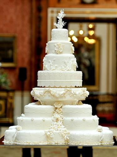 The Royal Wedding Cake - The Duke and Duchess of Cambridge's wedding cake. It was a fruit cake.