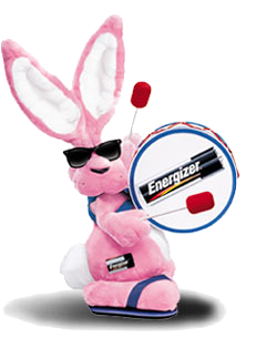 Energizer Bunny - He keeps on going!