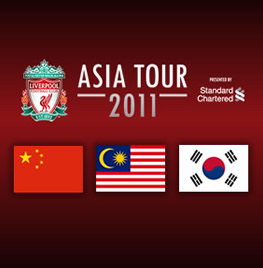 Liverpool's Asia Tour - Liverpool will make a tour in Asia this summer. They will play against the teams at the pic.