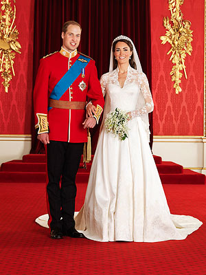 Prince William and his Bride Kate Middleton - They are so lovely together! They make a great couple