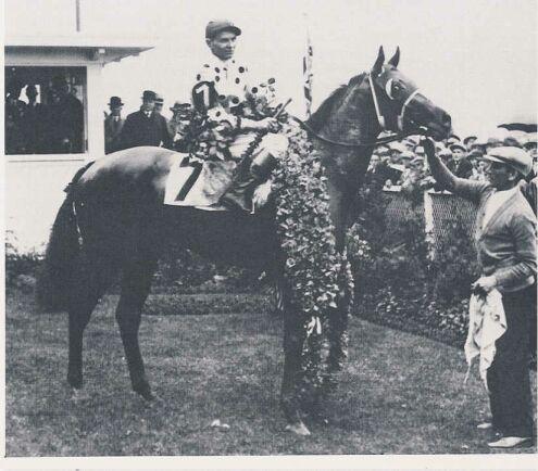 Gallant Fox - Gallant Fox won the Triple Crown in 1930.